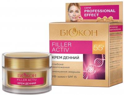 Дневной крем Биокон Professional Effect Filler Activ 55+ 50 мл (4820160037342)