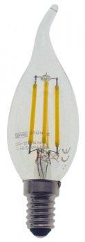 Світлодіодна лампа Emos LED C35 4W 4100К E14 (DZ74214)