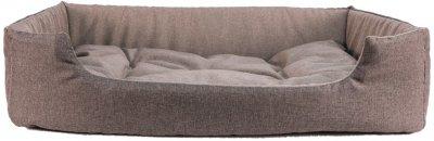 Лежак для кішок і собак Фортнокс FX home Rosto 63 х 46 х 15 см Коричневий (2820000013477)
