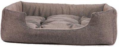 Лежак для кішок і собак Фортнокс FX home Rosto 42 х 34 х 12 см Коричневий (2820000013484)