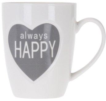 Чашка Excellent Houseware 350 мл (Q75900210_always_happy_gray)