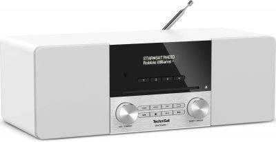 Цифровий стаціонарний радіоприймач TechniSat DIGITRADIO 3 з CD-плеєром білий (0001/3913)