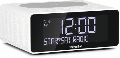Радіогодинник TechniSat DIGITRADIO 52 Білі (0001/3914)