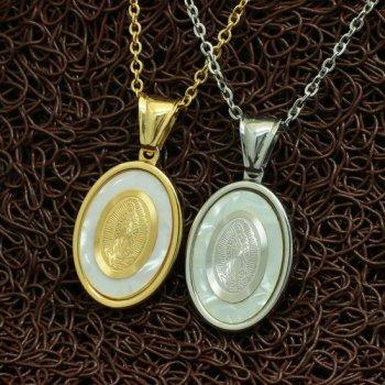 Парные медальоны YST Дева Мария
