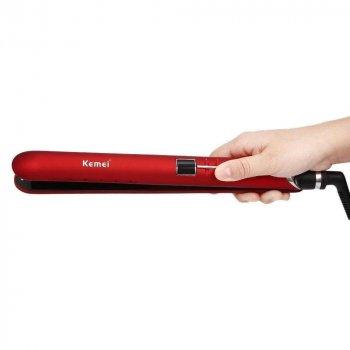 Прасочка для волосся Kemei JB-KM-2205 Червоний (3652)