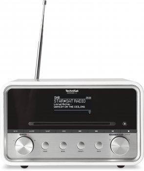 Аудіосистема Цифровий радіоприймач TechniSat DIGITRADIO 580 DAB+ CD/ MP3 рідером, мультирум Білий (0001/4977)