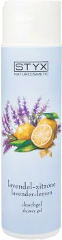 Гель для душа Styx Naturcosmetic Shower Gel Lavender- Lemon Лаванда и лимон 250 мл (9004432181956)