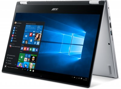 Ноутбук Acer Spin 3 SP314-54N-33Z1 (NX.HQ7EU.008) Pure Silver