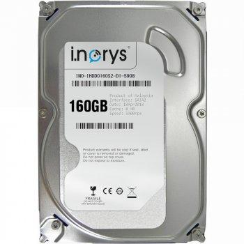 "Жорсткий диск i.norys 160ГБ 3.5"" 5400об/мин, 8МБ SATAII (INO-IHDD0160S2-D1-5908) Refurbished"