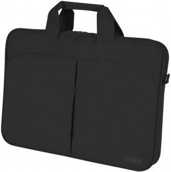 "Сумка для ноутбука D-Lex 17"" Black (LX-057R-BK)"