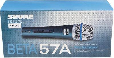 Вокальний мікрофон SHURE Beta 57A (1577)