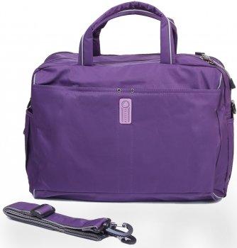 Женская спортивно-дорожная сумка Volunteer 20 л 41 x 27 x 18 см Фиолетовая (VT-2118-05)