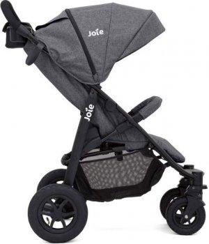 Прогулочная коляска Joie Litetrax 4 Air Chromium Серая (S1112WBCRM000) (5056080601229)