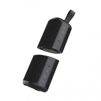 Портативна акустика (2 в 1) MusicDealer Double Beef Dark Gray
