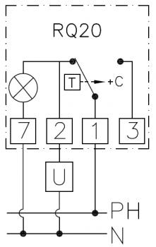 Механічний кімнатний регулятор температури Cewal RQ 20
