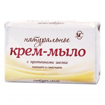 Крем-мыло натуральное с протеинами шелка Невская Косметика, 90 г (4600697102016)