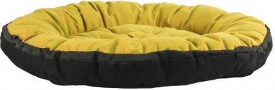 Лежак для кішок і собак Фортнокс FX home FLOX 56 х 56 х 10 см Гірчично-коричневий (2820000013668)