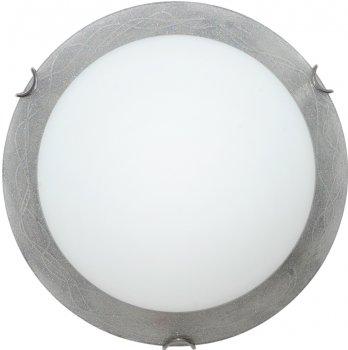 Світильник настінно-стельовий Декора Міраж 25140 срібло (DE-45516)