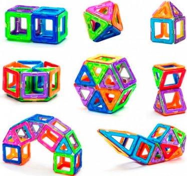 Магнитный конструктор Qunxing Toys 40 деталей (702A) (4812501153507)