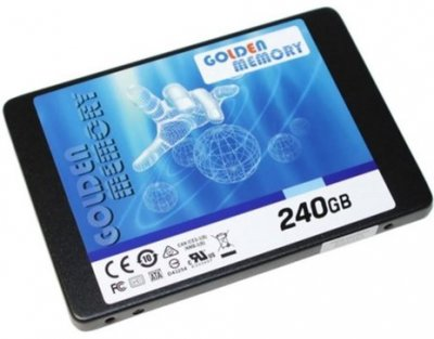 "Golden Memory 240GB 2.5"" SATAIII TLC (AV240CGB/GMSSD240GB)"