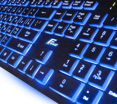 Клавіатура дротова Frime MoonFox USB (FLK18200)