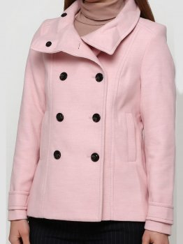 Пальто H&M a31_390162005 Розовое