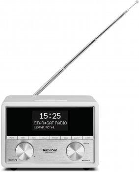 Стационарный радиоприемник-часы TechniSat DIGITRADIO 80 DAB+ Белый (0001/4959)