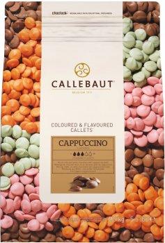 Бельгийский шоколад Callebaut Cappuccino Callets в виде каллет со вкусом капучино 2.5 кг (5410522513776)