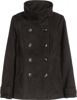 Пальто H&M 390162001a40 Черное