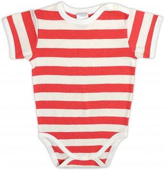 Боди-футболка Garden Baby 19310-08 Полоска бело-красная