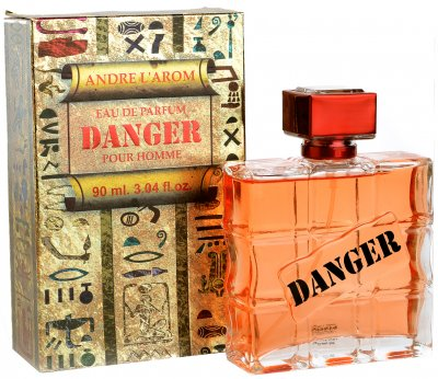 Парфюмированная вода для мужчин Aroma Perfume Danger 90 мл (4820186821642)