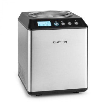 Машина для морозива Klarstein Vanilla Sky Family (10031846) срібляста