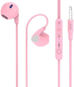 Наушники UiiSii U1 Pink (FSH55052)