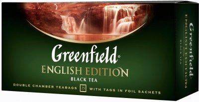 Чай пакетированный Greenfield EnglishEdition 25 x 2 г (4823096805764)