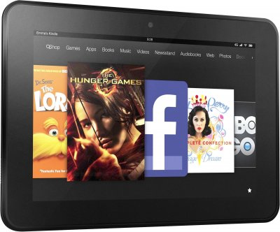 """Планшет Amazon Kindle Fire SV98LN 7 Quad-Core 1.3 Ггц 1Gb-8Gb-7"""" 1024 x 600-(B)- Б/В"""