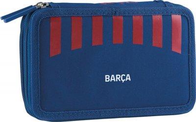 Пенал с наполнением Barcelona 2W FC-270 FC Barca Fan 8 Kids на 2 отделения (503020002)