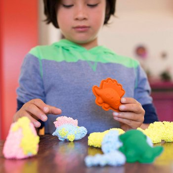 Набор шарикового пластилина Educational Insights Мир динозавров (EI-1934) (4710006504766)
