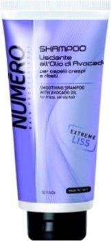 Розгладжувальний шампунь Brelil Professional Numero Smoothing Shampoo з олією авокадо 300 мл (8011935075140)