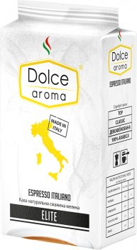 Кофе молотый Dolce Aroma Elite 250 г (4820093481373)