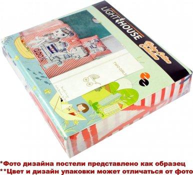 Комплект постільної білизни LightHouse Преміум ранфорс Tiny Cat 100x150 (2200000544209)