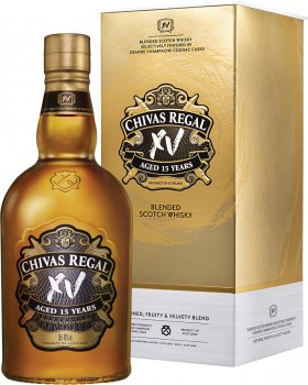 Виски Chivas Brothers Limited 0.7 л XV 15 лет выдержки 40% в подарочной упаковке (5000299622049)