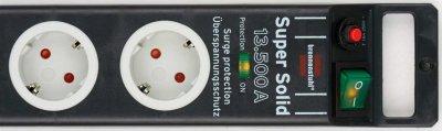 Мережевий фільтр Brennenstuhl Super-Solid 5 розеток 2.5 м (1153380315)