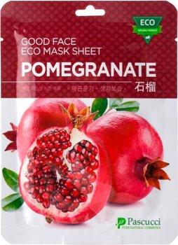 Тканевая маска для лица Amicell Pascucci с экстрактом Граната 23 мл (8809142563297)