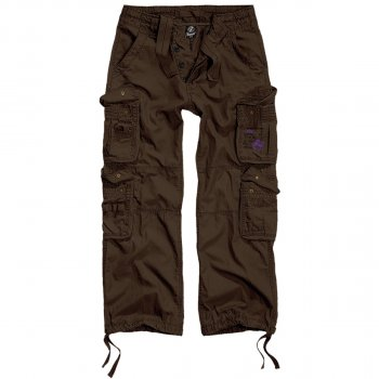 Мужские карго брюки Brandit Pure Vintage BROWN