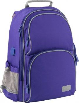 Рюкзак полукаркасный школьный Kite Education Smart для мальчиков 38 x 28 x 15 см 16-25 л Синий (K19-702M-3)