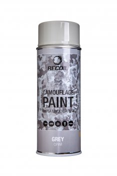 Фарба маскувальна аерозольна RecOil (Сірий)