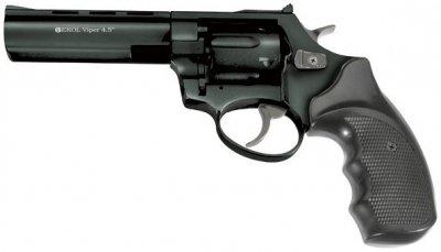 "Револьвер під патрон Флобера Ekol Viper 4,5"" Black"