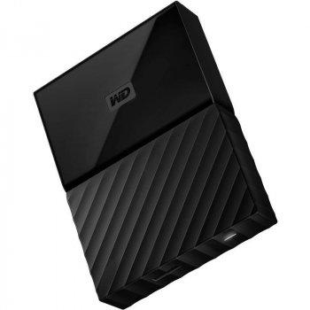 """Зовнішній жорсткий диск HDD 2.5"""" USB 3.0 1Tb WD My Passport Black (WDBYNN0010BBK-EEEX)"""