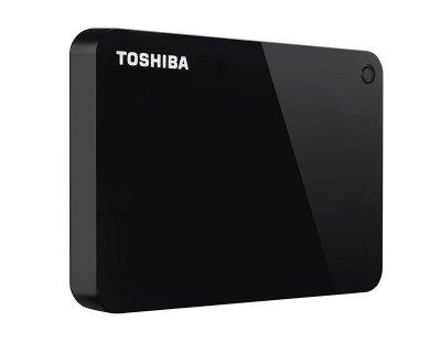 """Зовнішній жорсткий диск HDD 2.5"""" USB 3.0 1Tb Toshiba Canvio Advance Black (HDTC910EK3AA)"""