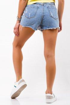 Юбка-шорты джинсовые Remix 622 Голубые